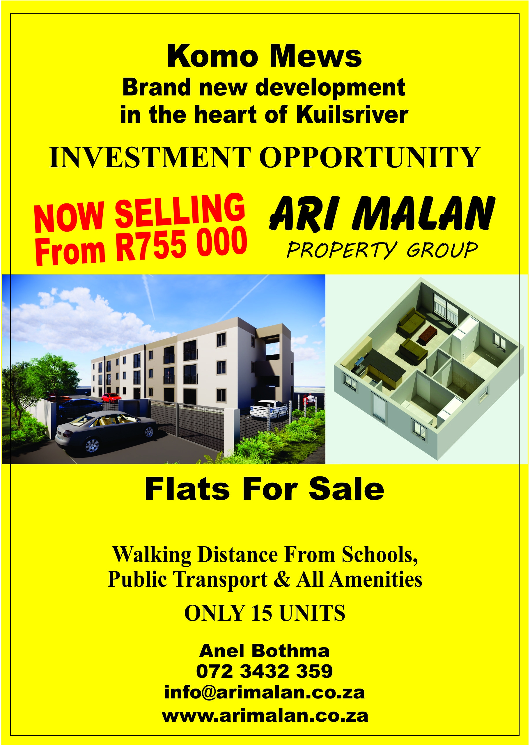 KuilsRiver / Flats for sale