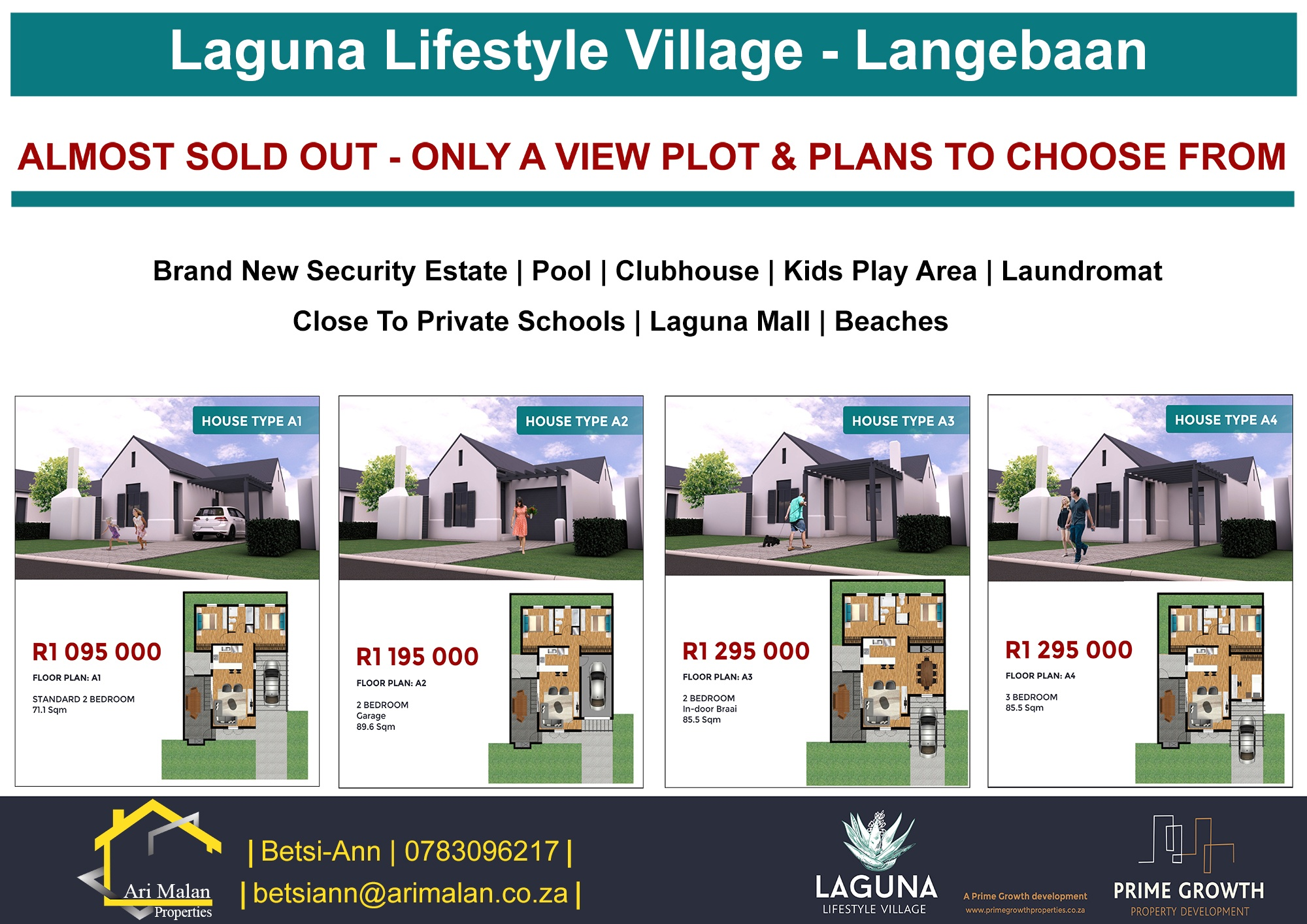 LANGEBAAN – Brand New – Modern – Great Price