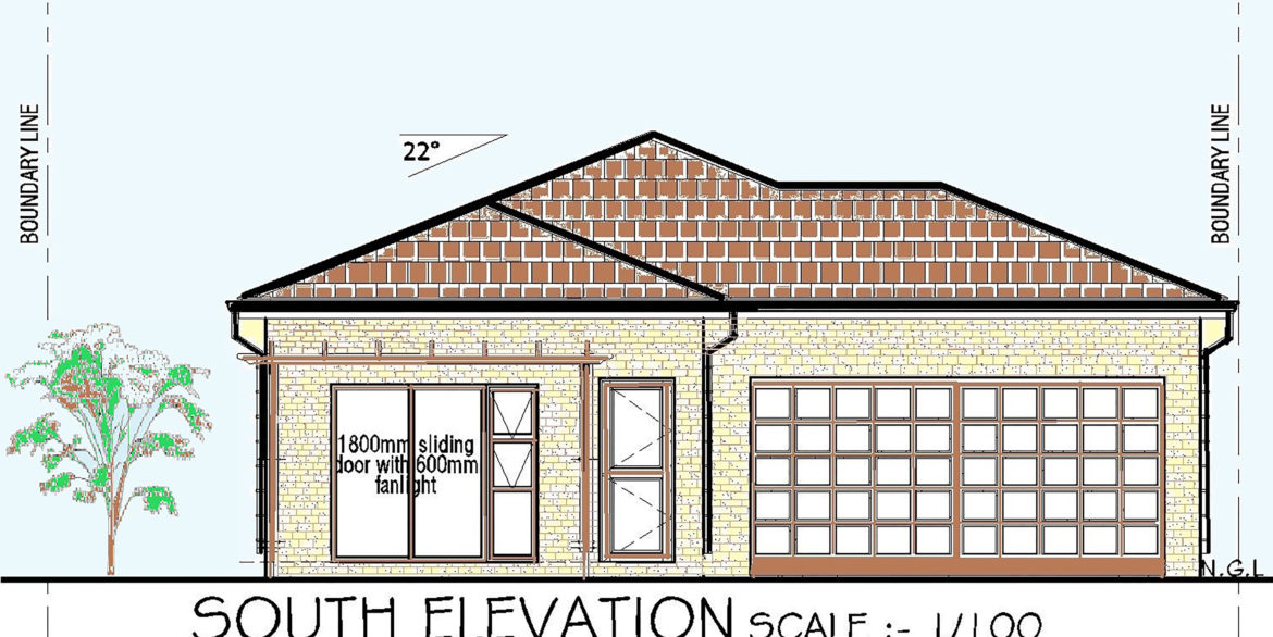 GALDIOLI STREET- PORTION 2 ELEVATION