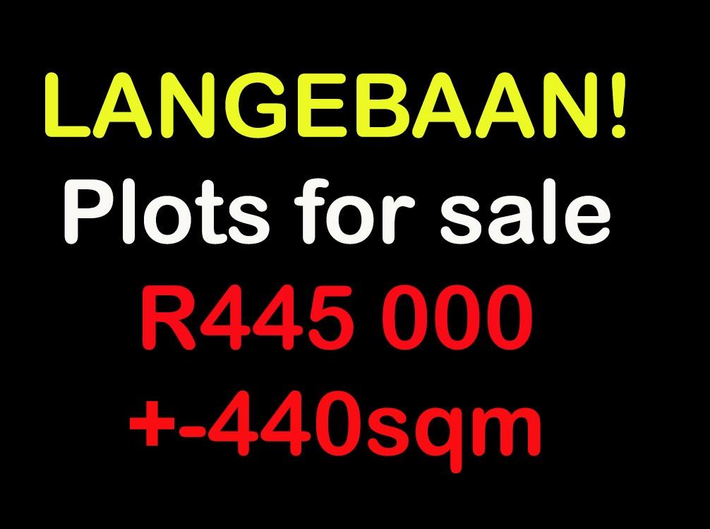 Langebaan | Plots for sale